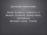 How to Use Adverbs - Grammar Examples